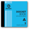 Olympic 5 Carbon Book Duplicate 120x125mm 50 Leaf