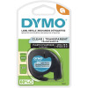 Dymo Letratag Labelling Tape 12mmx4m Clear