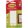 Command 17206 Picture Hanging Strips Large Sets of 4 White