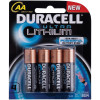 DURACELL LITHIUM BATTERY AA 4/Card