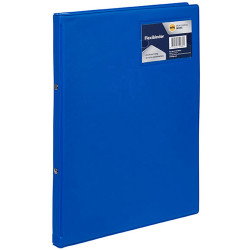 Marbig Professional Flexi Binder Soft Cover 2 Ring 20mm Royal Blue