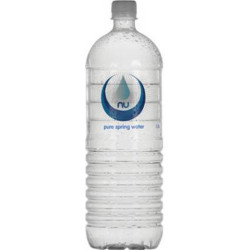 Nu-Pure Spring Water Bottles 1.5 Litres Pack of 8